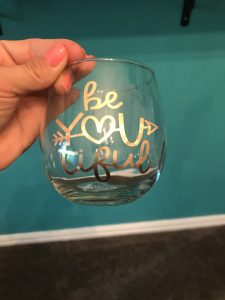 Be-You-tiful Wine Glass Set