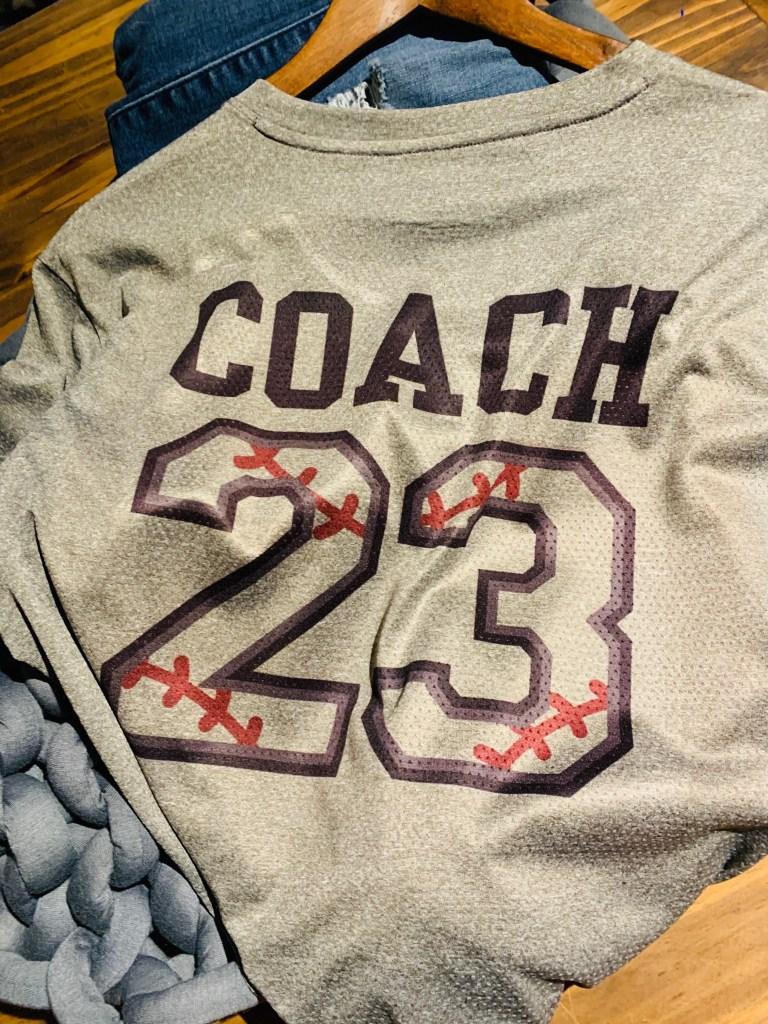 Sublimination Coach Shirt