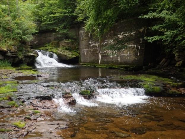 Beaverkill Falls, Sullivan County, New York 2014