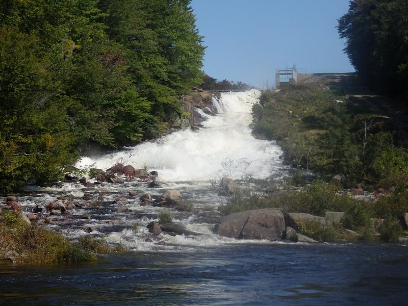 Moshier Upper Falls #1 Put-in slide