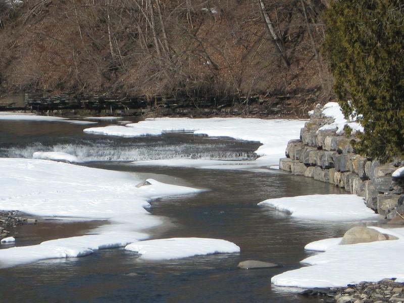 Nowadaga Creek,Tributaries to Falls on, #1, Herkimer County