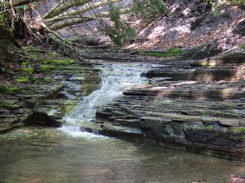 Ohisa Creek, falls on #1, Herkimer County