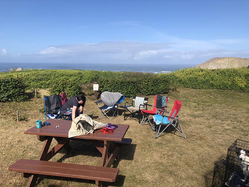 SeAnne at Seal Rock Cove Campsite