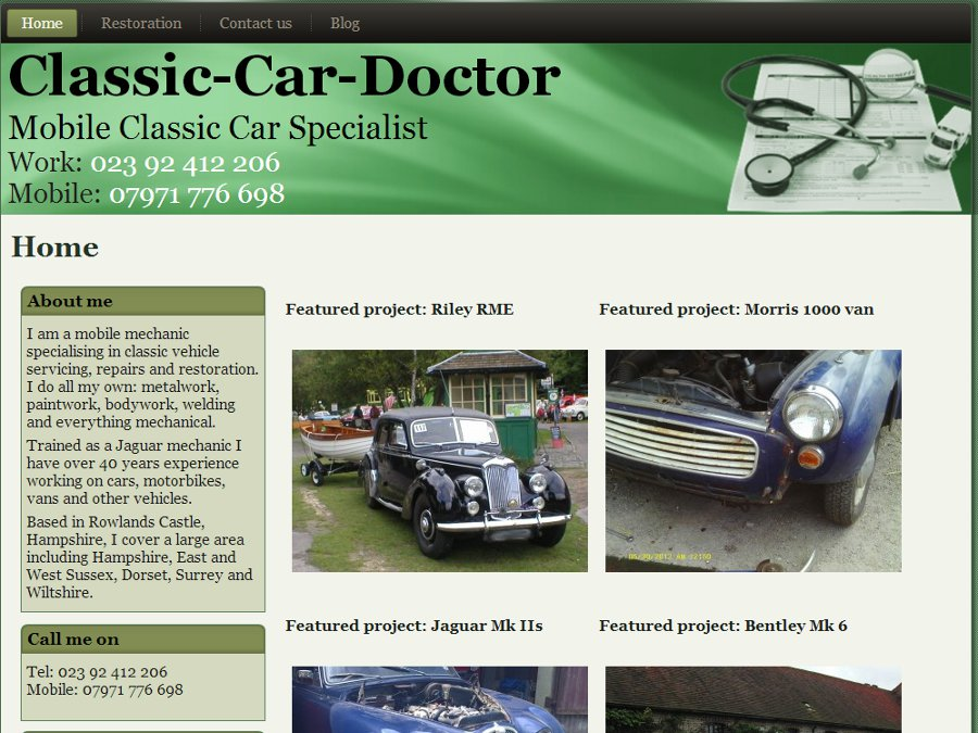 Classic Car Doctor