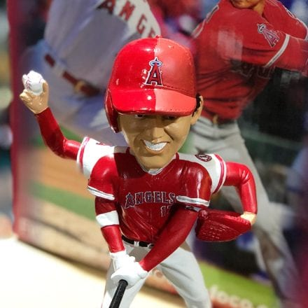 """Bobble of the Day """"Shohei Ohtani"""" Pitch & Hit Duel ..."""