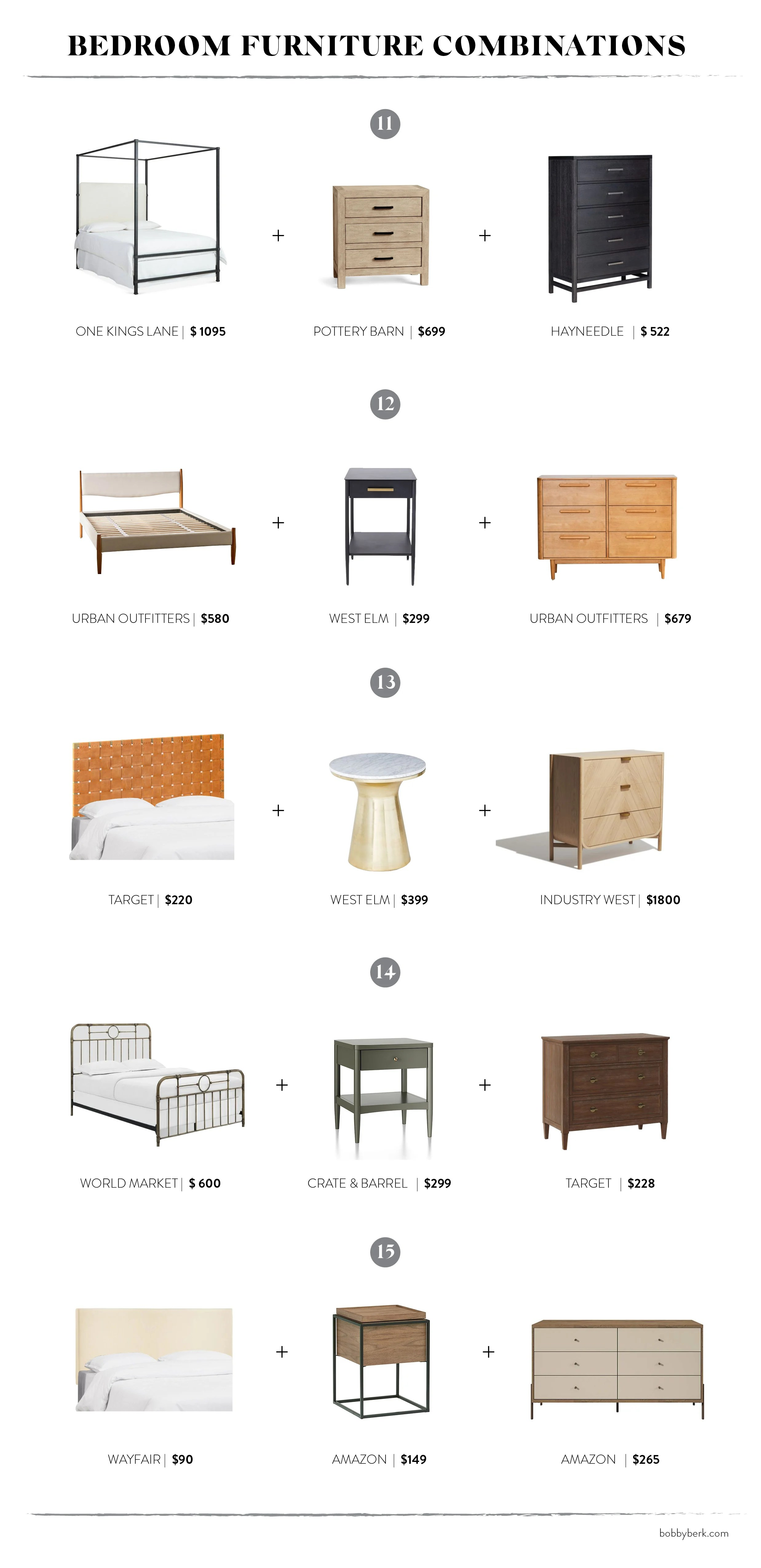 Mixing It Up 15 Bedroom Furniture Pairings That Work