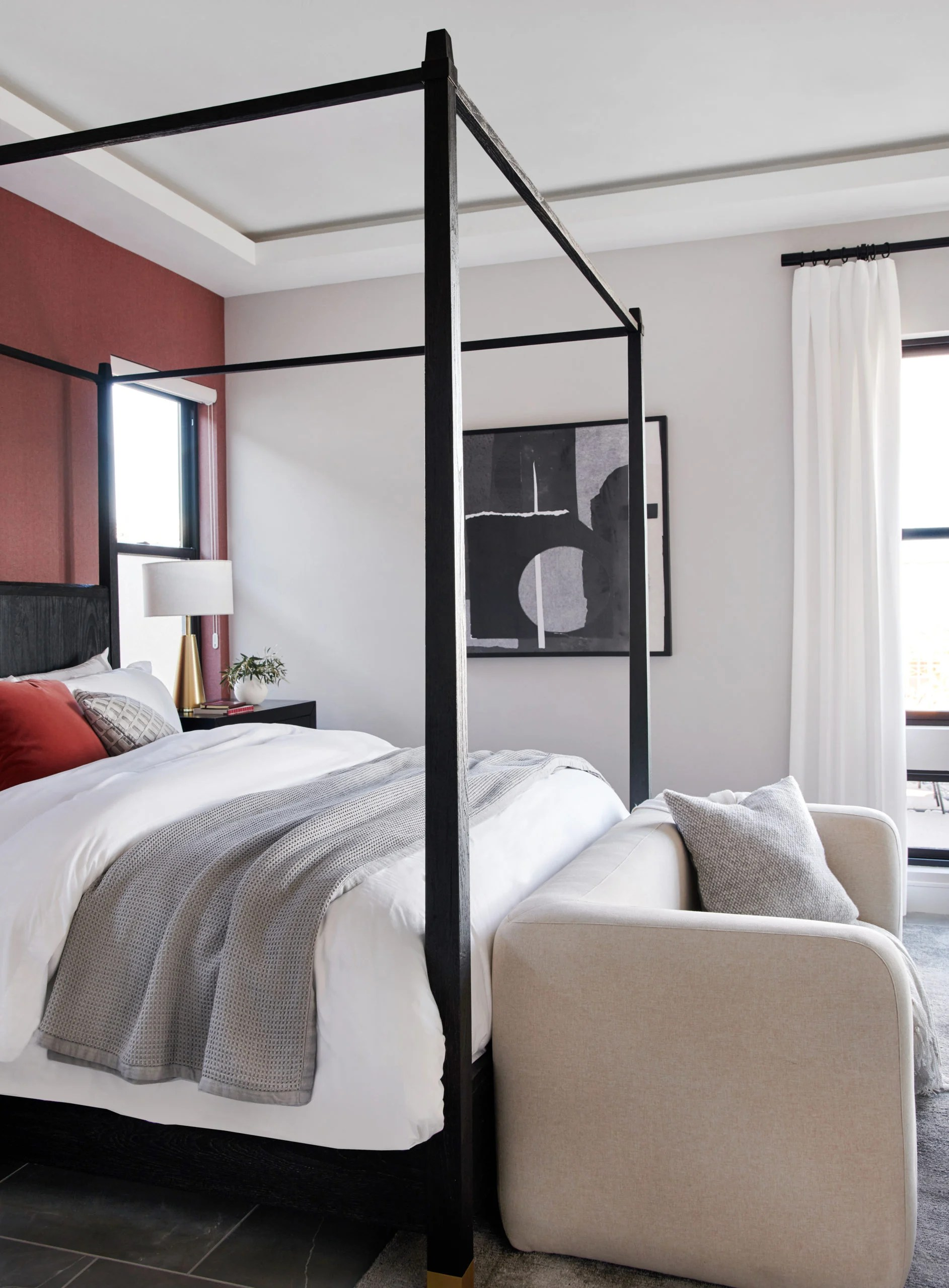 modern glam bedrooms bathrooms and