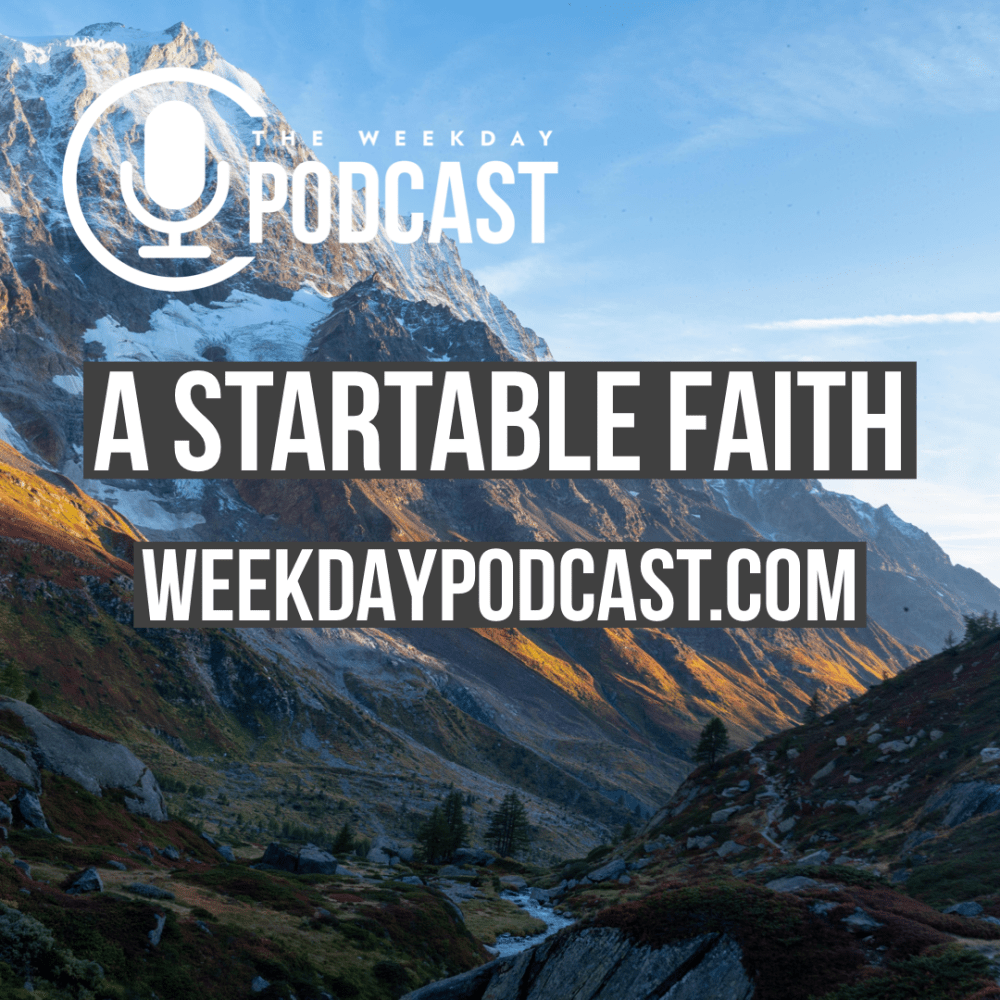 A Startable Faith