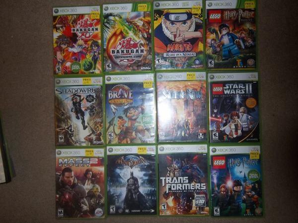 Xbox 360 Games | Bobby Nacc's Video Game Shack