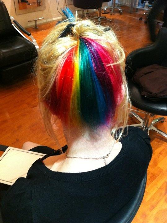 November Hair Inspiration Bobby Pins And Lip Gloss