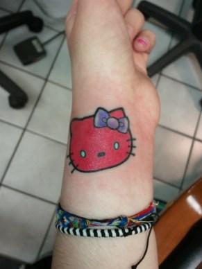 Hello Kitty by Bobby Rotten