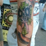 Elbow Skull Scissors by Bobby Rotten