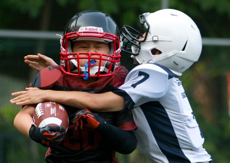 China American Football Photo Essay