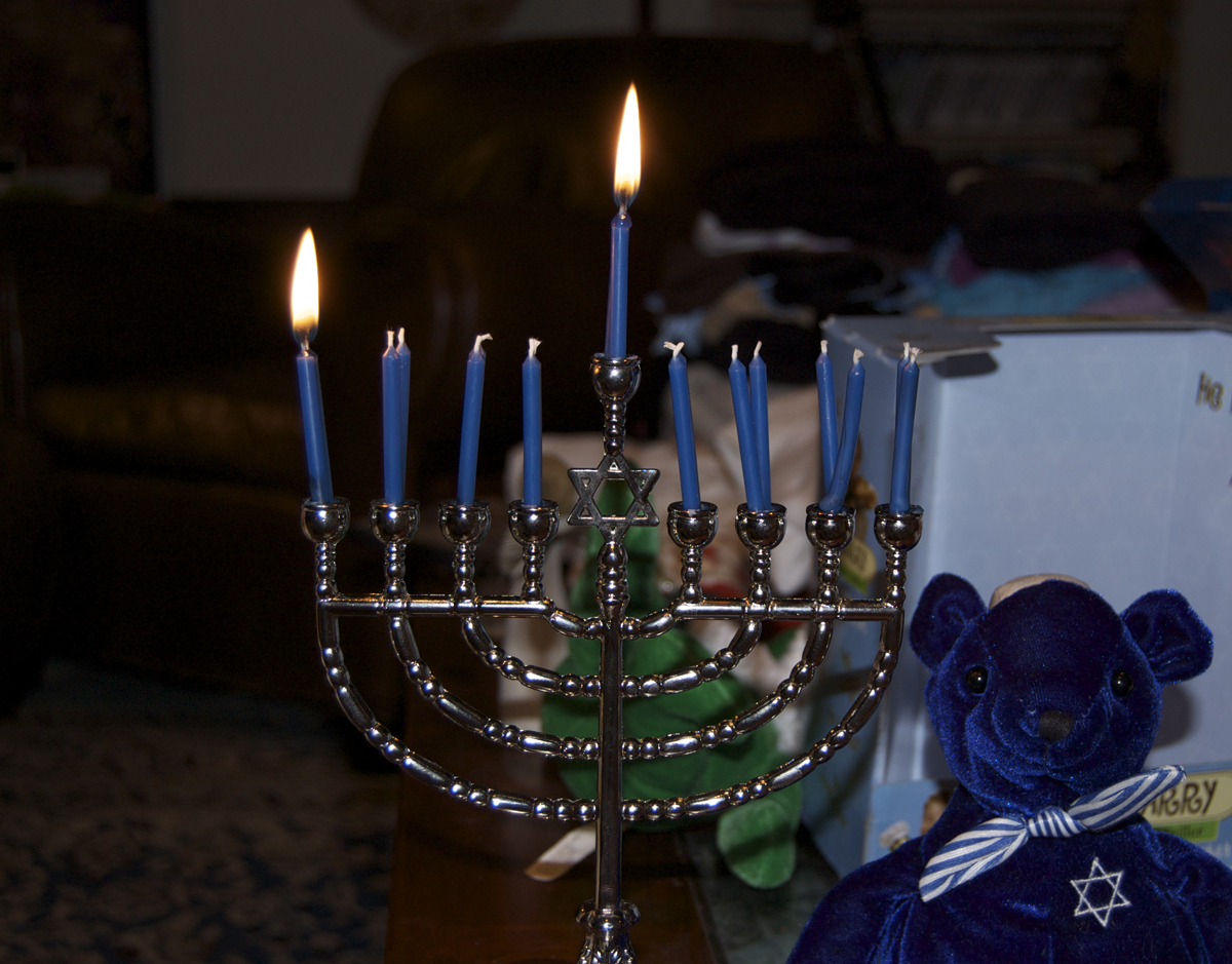 Hanukkah 2009, night one