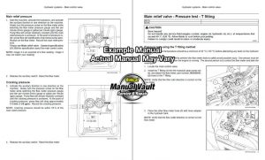Bobcat 3400, 3400XL UTV Service Repair Manual SN AJNU, AJNW | Bobcat Manual Vault