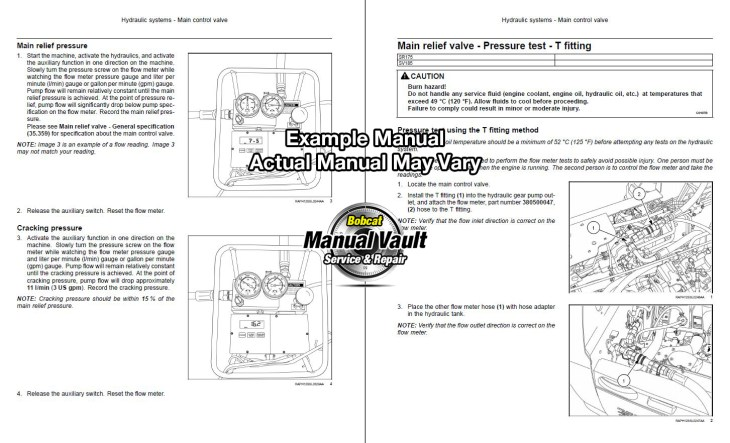 bobcat s570 wiring schematics bobcat s570 skid steer loader service repair manual alm4 ... bobcat 751 wiring schematics