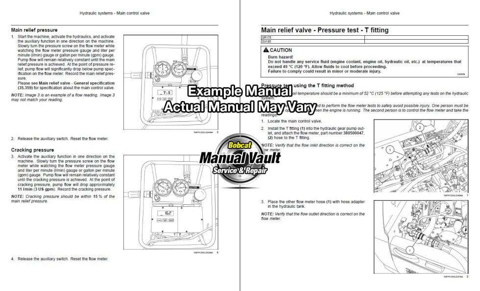 Bobcat Service Manual PDF Download