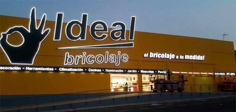 Ideal Bricolaje – Rótulo luminoso