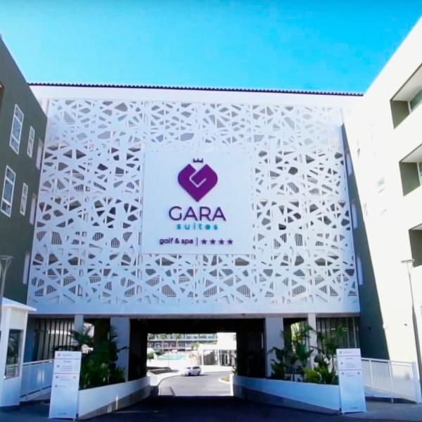revestimiento fachada composite hotel gara suite tenerife canarias