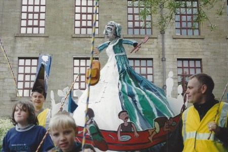 Irwell Day parade