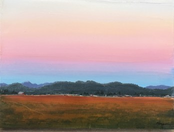 """""""Skagit Morning"""": Original SOLD/Canvas mounted print available"""