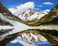 """Maroon Bells"": Original SOLD"