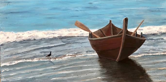 """Morning Tide"": Original SOLD/Acrylic enhanced canvas mounted print available"