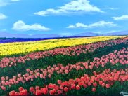 """""""Flowers are the alphabet of angels, whereby they write on the hills and fields mysterious truths."""" - Benjamin Franklin"""