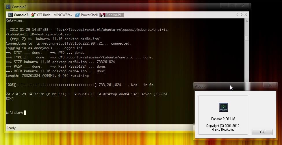 Console2 Całkiem Udany Wiersz Poleceń W Windows Bobiko