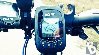 Holux GPSport 245 jako sprawdzony asystent rowierzysty