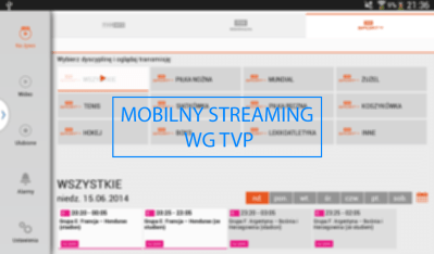 Mobilny streaming wgTVP