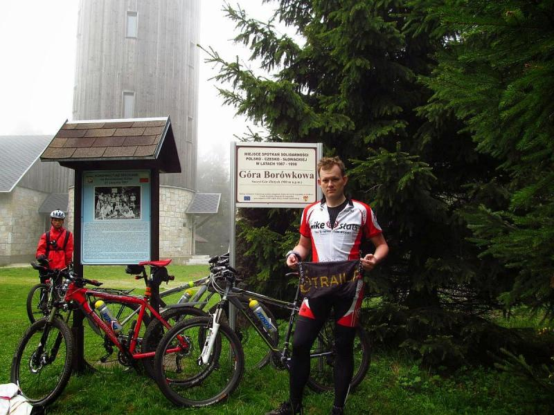 Borowkowa Gora - Pamiatkowa fotka zzamgloneg góry