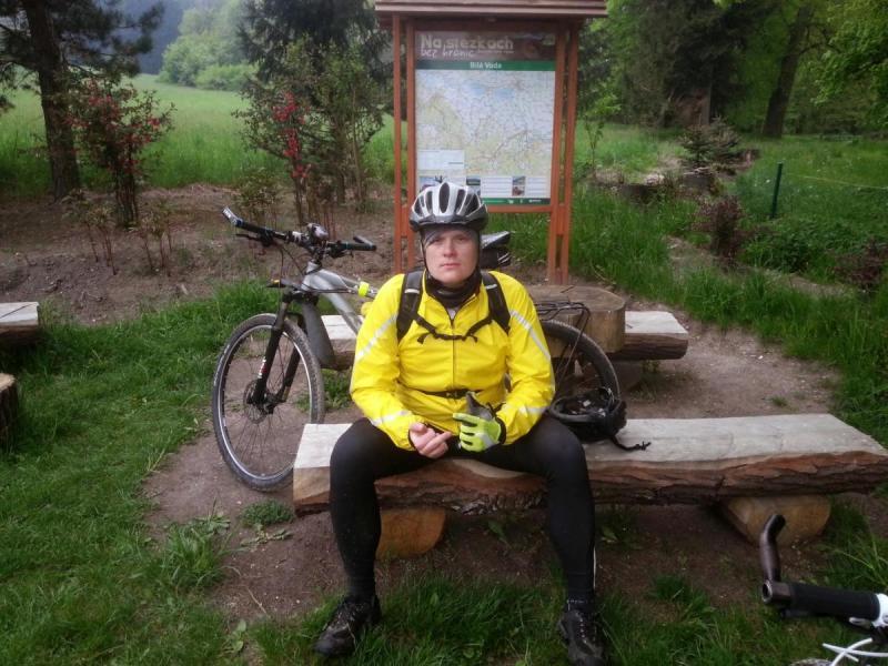 Borowkowa Gora - odpoczynek pomegafajnym zjezdzie