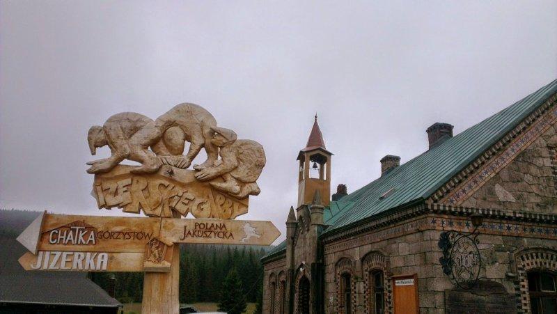 Góry Izerskie - Schronisko Orle