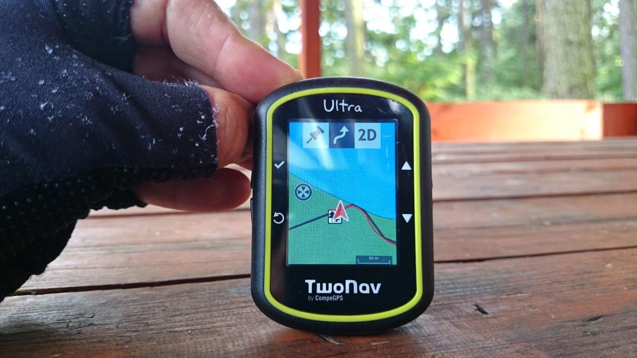 Two Nav Ultra - mapa