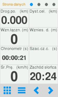 Kalkulator w Twonav Sportiva 2+