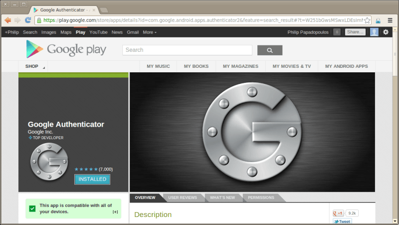 GooglePlayAuthenticator