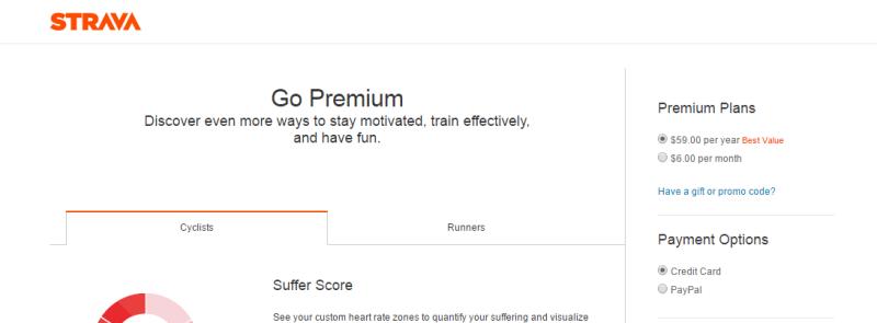Premium wgStrava