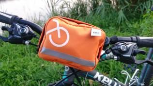 Apteczka umiejscowiona nakierownicy roweru mojejdziewczyny