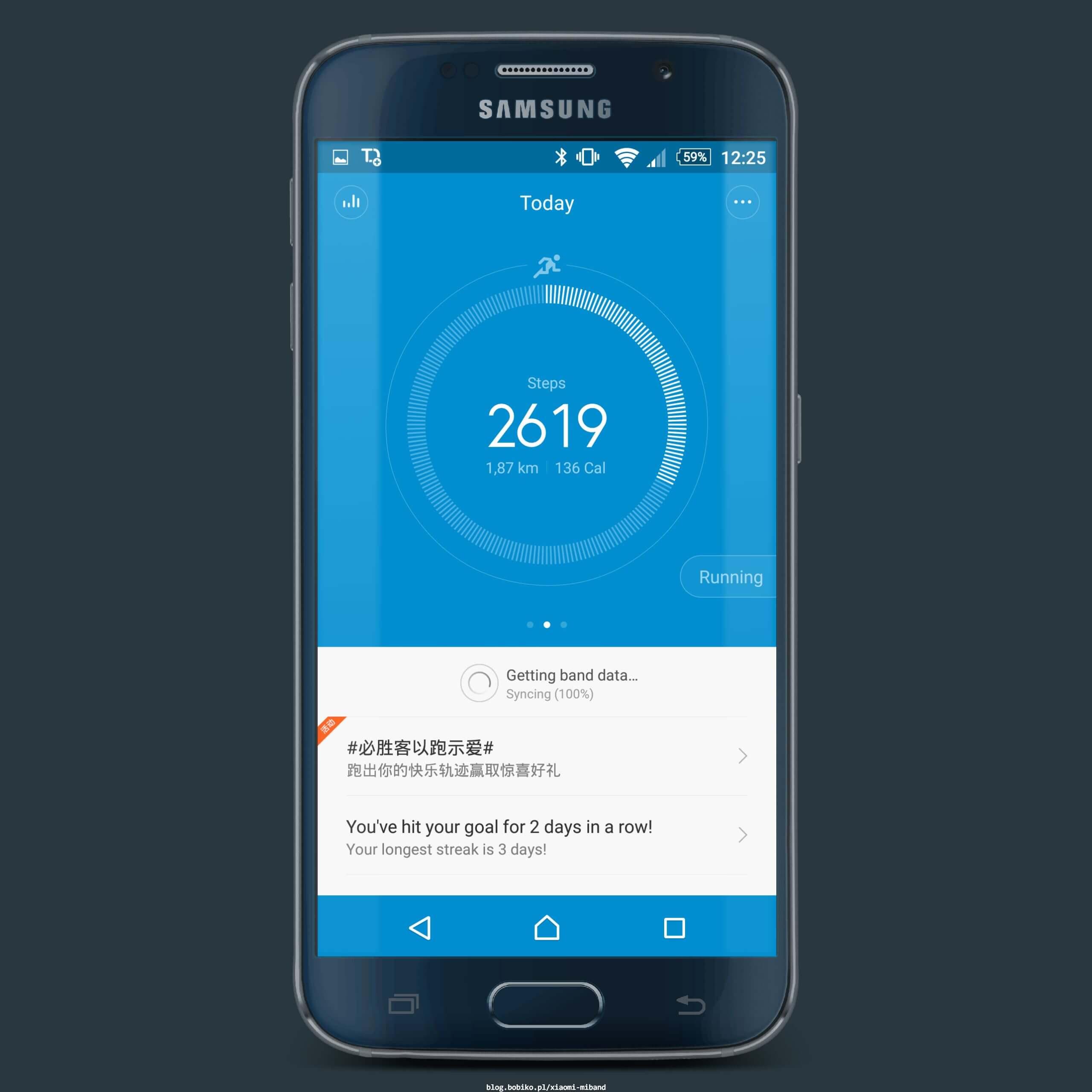 Xiaomi MiBand - kolejna inteligentna opaska • Bobiko ▫ Blog