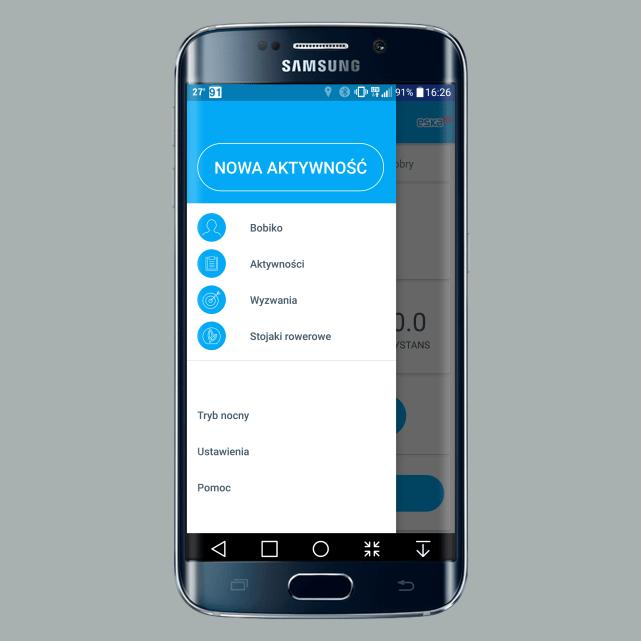 Krec kilometry - aplikacja