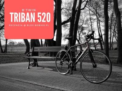 B'Twin Triban 520 – recenzja taniej szosówki