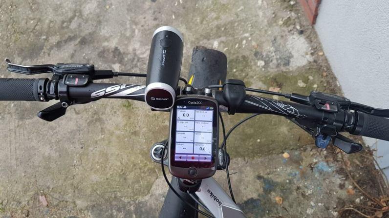 Mio Cyclo 200 - testy wwilgotnych warunkach