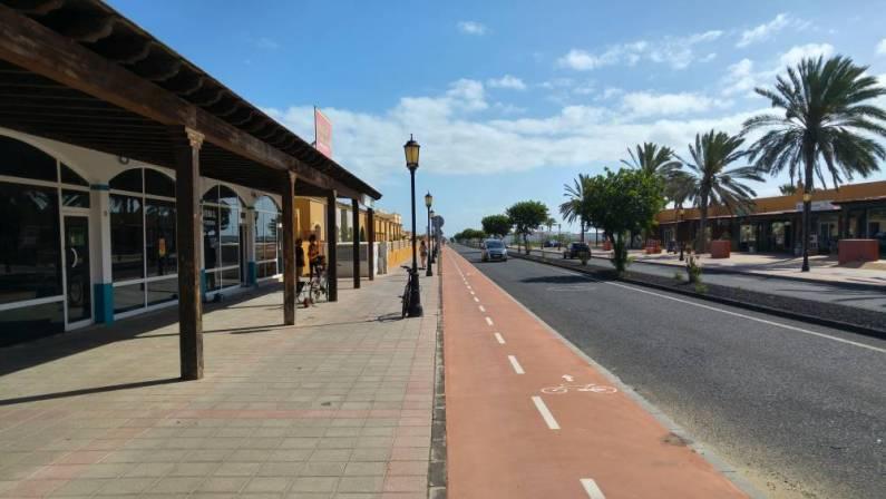 Fuertaventura - droga rowerowa wcorralejo