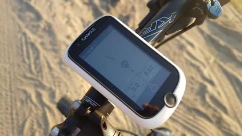 Mio Cyclo 500HC - prezentacja wterenie