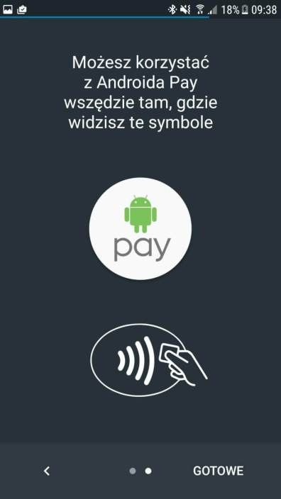 Android Pay - juz NFC
