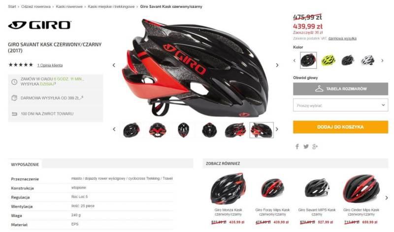 bikester - specyfikaca zamowienia