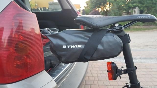 torba podsiodlowa - decathlon 700
