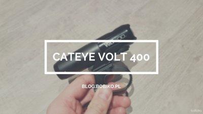 Cateye Volt 400 – test przedniego oświetlenia rowerowego
