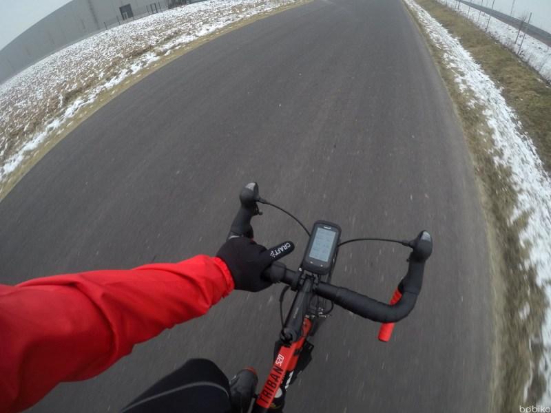 na rower jesienia izima